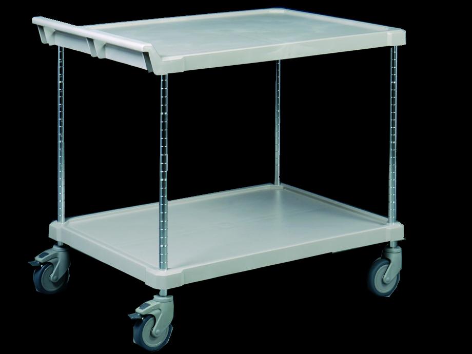 servierwagen polyethylen servierwagen kunststoff servierwagen mit fachb den aufkantung. Black Bedroom Furniture Sets. Home Design Ideas